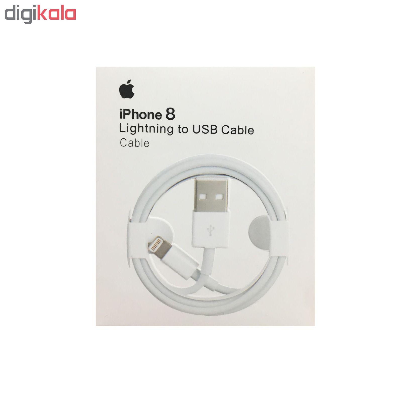 کابل تبدیل USB به لایتنینگ مدل ZM-826-0420-B طول 1 متر مناسب برای IPhone 8 main 1 2