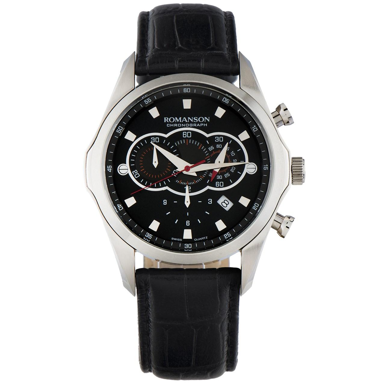ساعت مچی عقربه ای مردانه رومانسون مدل TL3207HM1WA32W 12