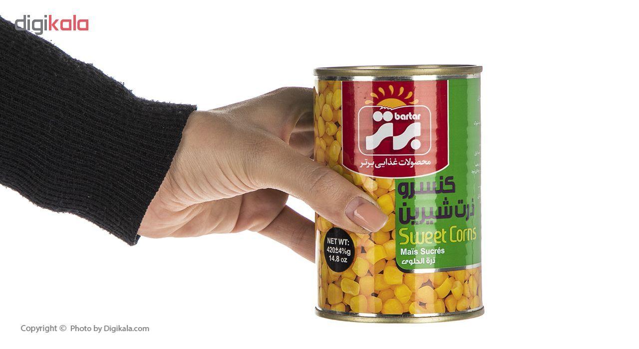 کنسرو ذرت شیرین برتر - 420 گرم main 1 4