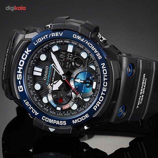 ساعت مچی عقربه ای مردانه کاسیو مدل GN-1000B-1ADR -  - 5
