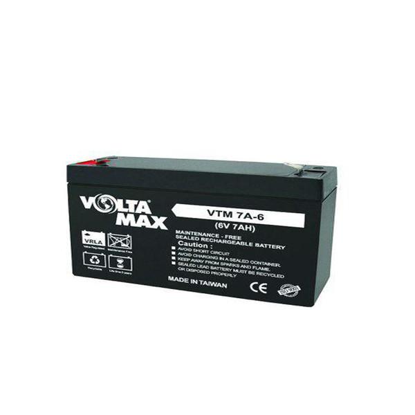 باتری 6 ولت 7 آمپر ولتامکس مدل VO6-7