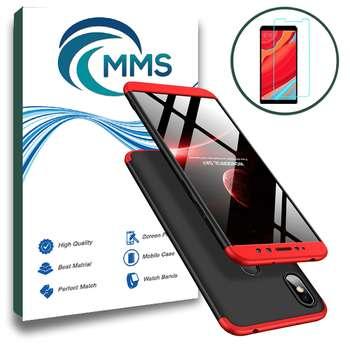 کاور 360 درجه ام ام اس مدل FPGKK مناسب برای گوشی موبایل شیائومی Redmi S2 / Redmi Y2 به همراه محافظ صفحه نمایش شیشه ای |