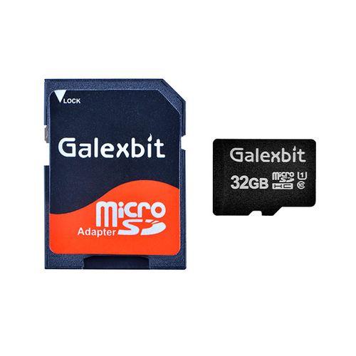 کارت حافظه microSDHC گلکسبیت مدل 333X کلاس 10 استاندارد UHS-I سرعت 50MBps ظرفیت 32 گیگابایت به همراه آداپتور sd