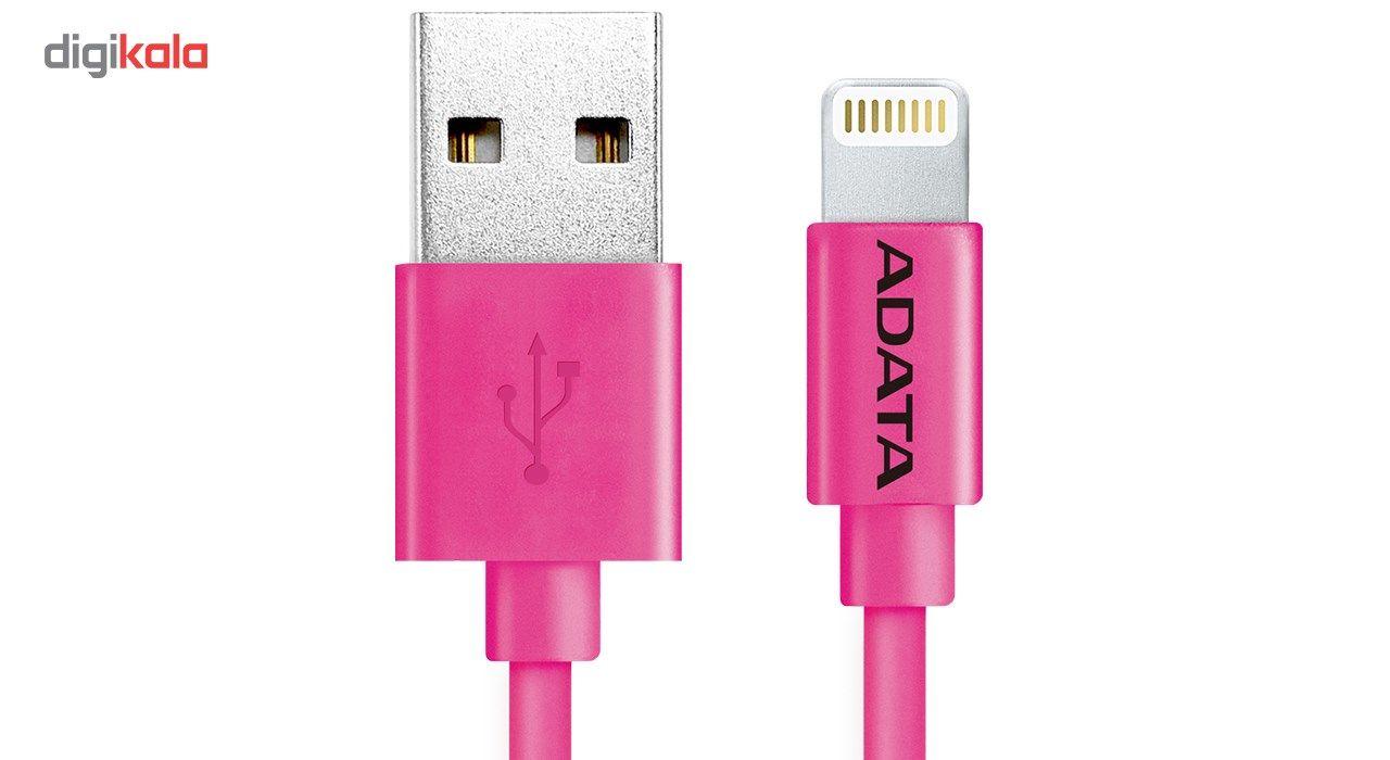 کابل تبدیل USB به لایتنینگ ای دیتا مدل Sync And Charge طول 1 متر main 1 4