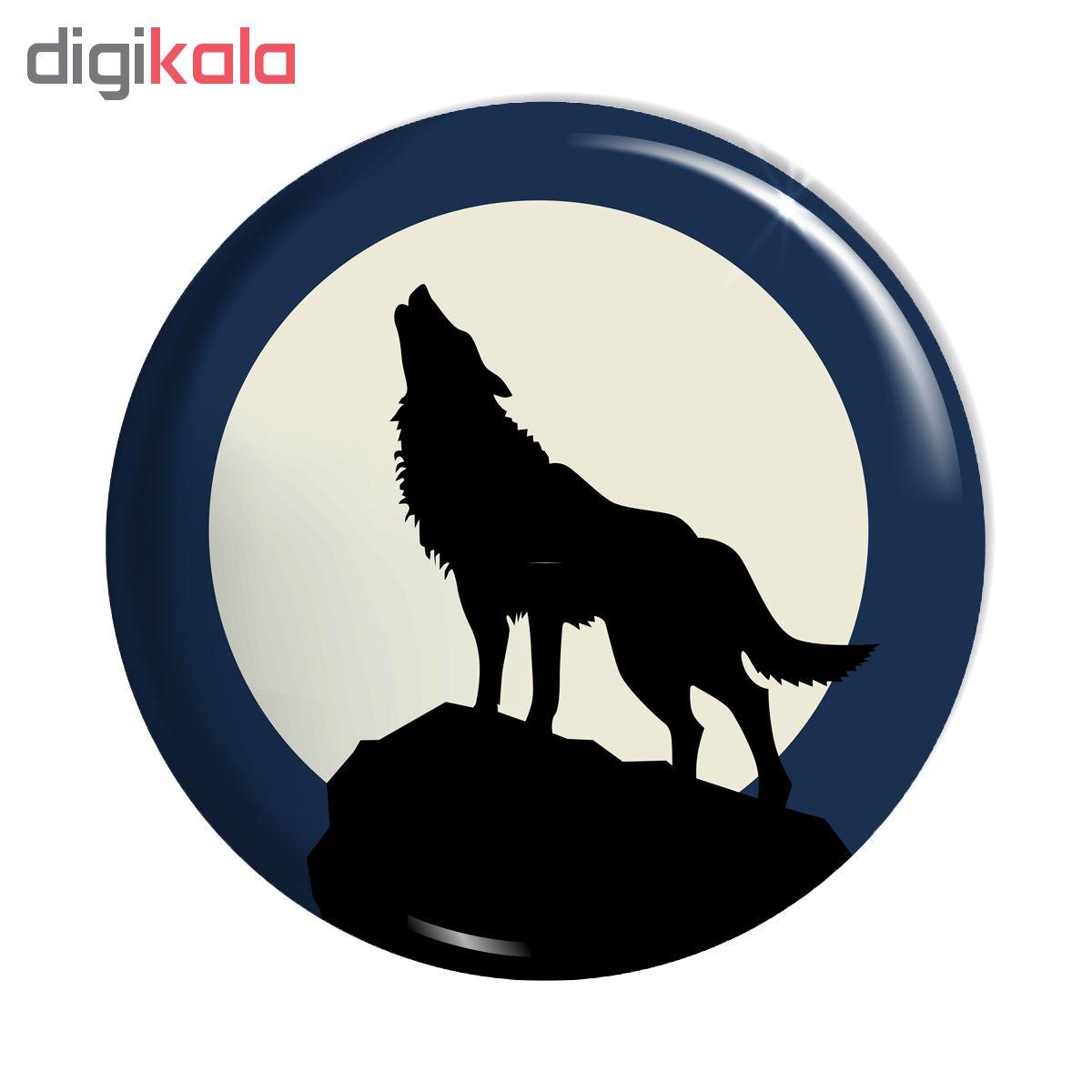 پیکسل اسانا طرح گرگ روباه حیوانات کد ASA010