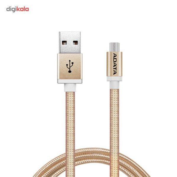 کابل تبدیل USB به microUSB ای دیتا مدل Reversible Aluminum به طول 1 متر main 1 13