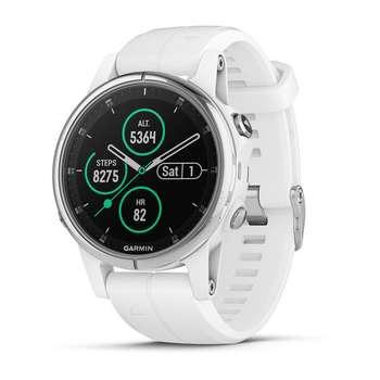 ساعت مچی هوشمند گارمین مدل fenix 5s plus sapphire