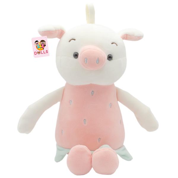 عروسک بی جی دالز طرح خوک مدل Strawberry Pig ارتفاع 30 سانتی متر