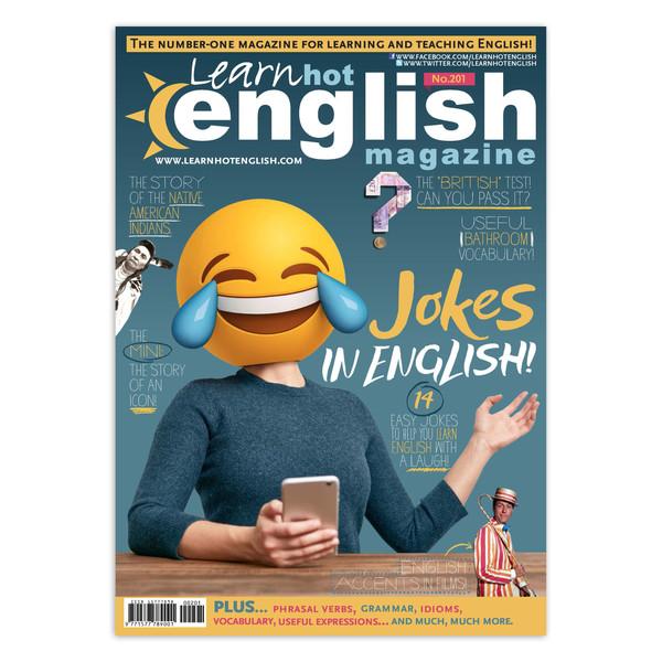 مجله Learn Hot English - شماره 201