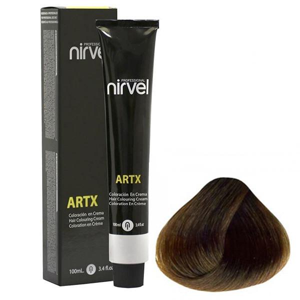 رنگ مو نیرول سری ARTX مدل Warm Natural شماره 07-7 حجم 100 میلی لیتر رنگ بلوند گرم متوسط