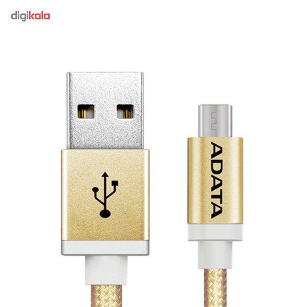 کابل تبدیل USB به microUSB ای دیتا مدل Reversible Aluminum به طول 1 متر main 1 14