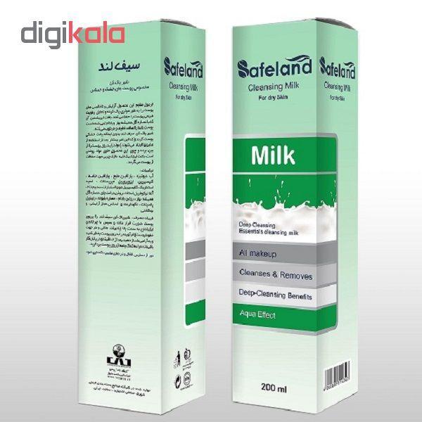 شیر پاک کن سیفلند مدل Dry Skin حجم ۲۰۰ میلی لیتر main 1 1