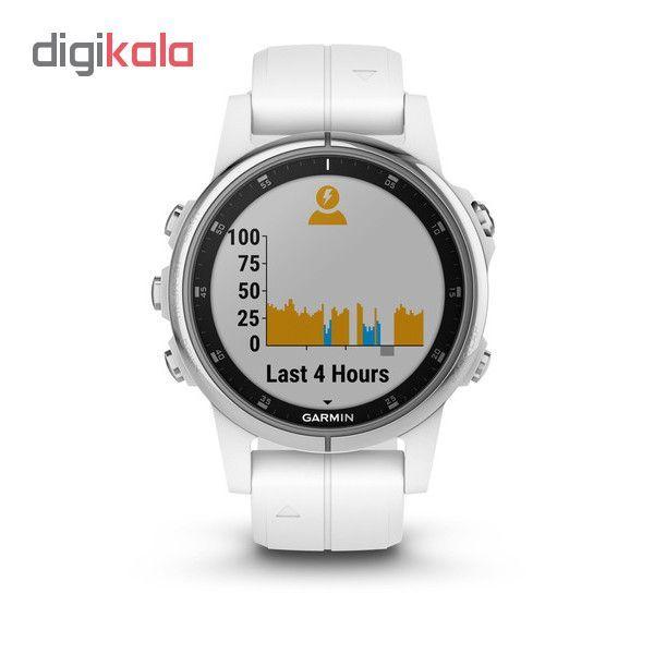 ساعت مچی هوشمند گارمین مدل fenix 5s plus sapphire main 1 4