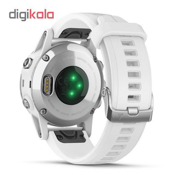 ساعت مچی هوشمند گارمین مدل fenix 5s plus sapphire main 1 5