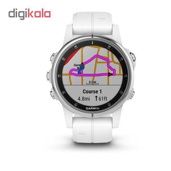ساعت مچی هوشمند گارمین مدل fenix 5s plus sapphire main 1 6