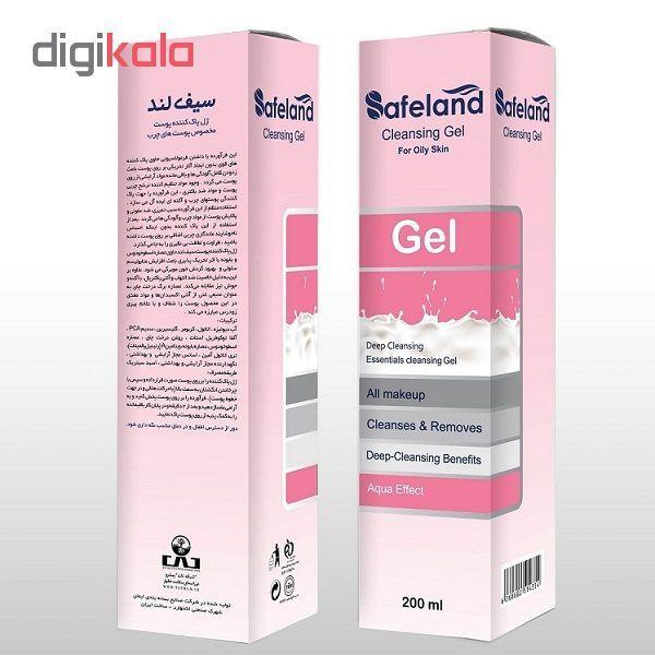 ژل پاک کننده آرایش صورت سیفلند مدل Oily Skin حجم ۲۰۰ میلی لیتر main 1 1