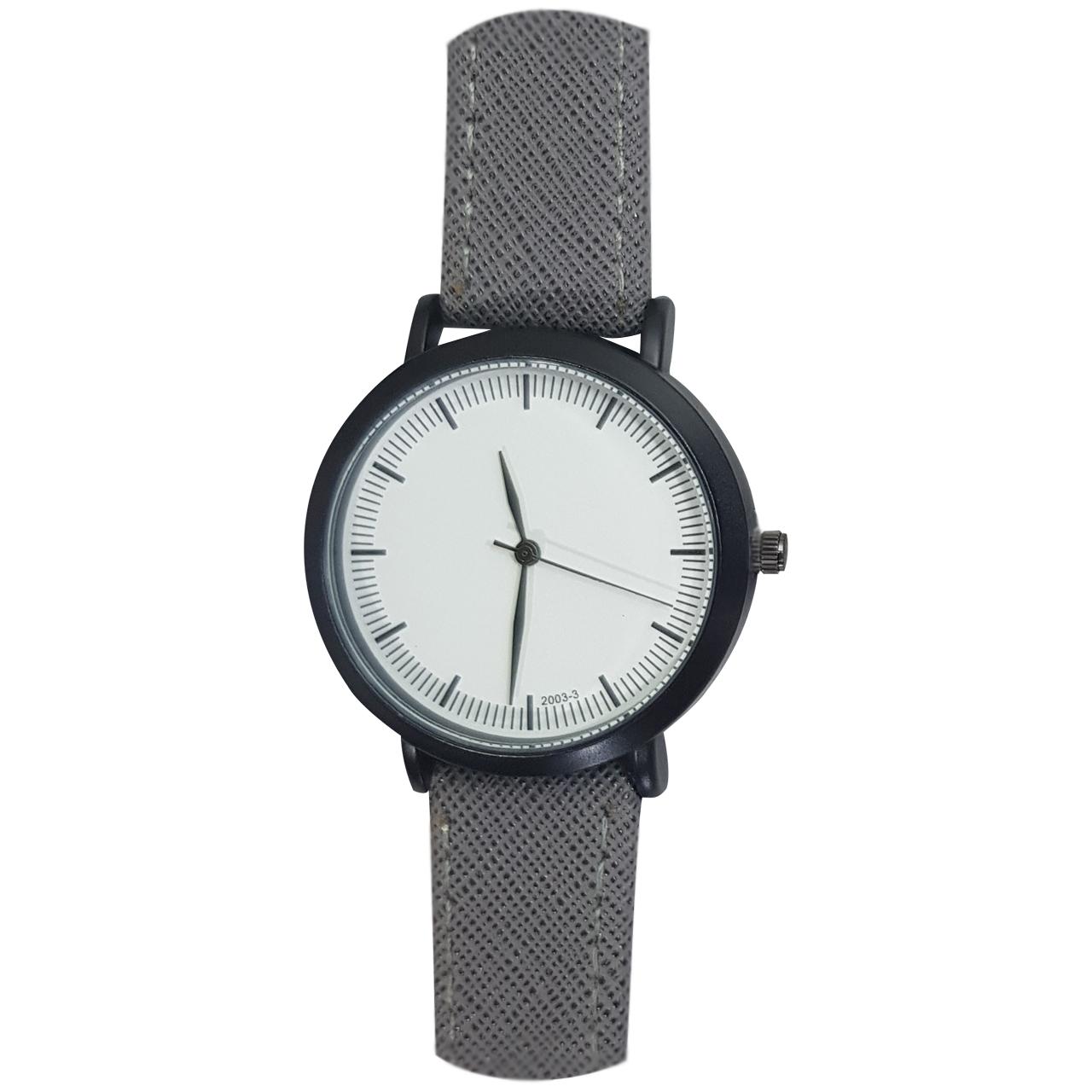 ساعت مچی عقربه ای مدل BW1112 رنگ طوسی
