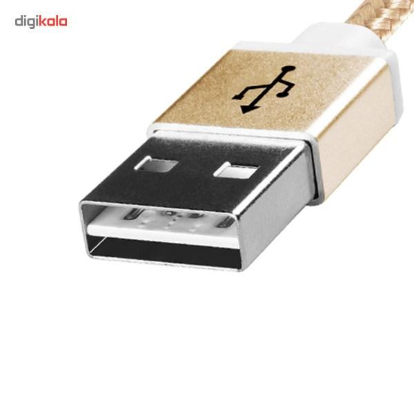 کابل تبدیل USB به microUSB ای دیتا مدل Reversible Aluminum به طول 1 متر main 1 15