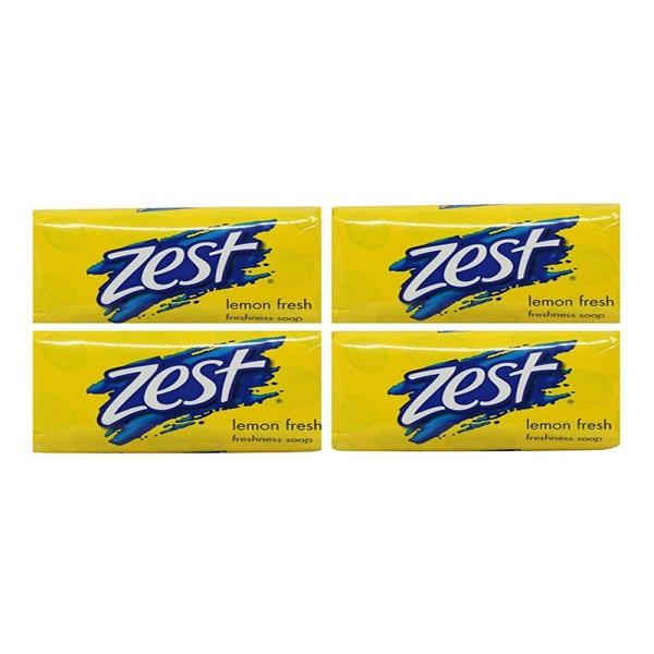 صابون زست مدل lemon Fresh مقدار 175 گرم بسته 6 عددی