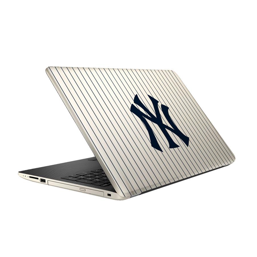 استیکر لپ تاپ فلوریزا طرح نیویورک NY کد 002 مناسب برای لپ تاپ 15.6 اینچ