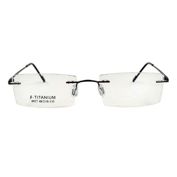 فریم عینک طبی مدل Beta Titanium Polished Black