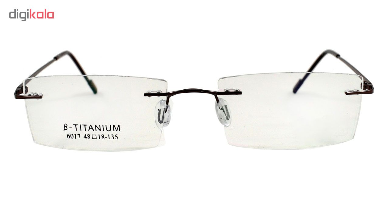 فریم عینک طبی مدل Beta Titanium Polished Copper