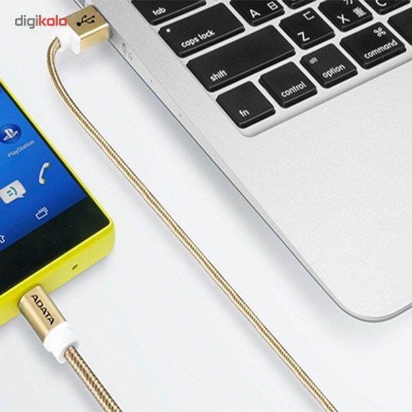 کابل تبدیل USB به microUSB ای دیتا مدل Reversible Aluminum به طول 1 متر main 1 18