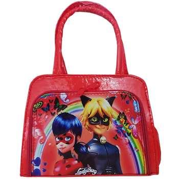 کیف دستی دخترانه مدل دختر کفشدوزکی کد 022