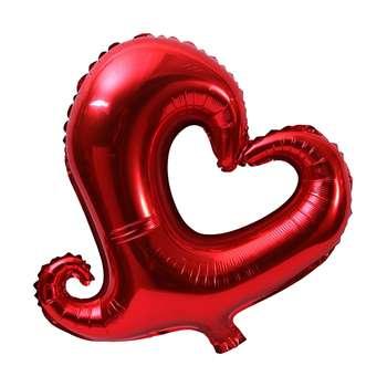 بادکنک فویلی سورتک طرح قلب مدل STF154
