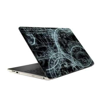 استیکر لپ تاپ فلوریزا  طرح ریاضی و فیزیک کد 010 مناسب برای لپ تاپ 15.6 اینچ