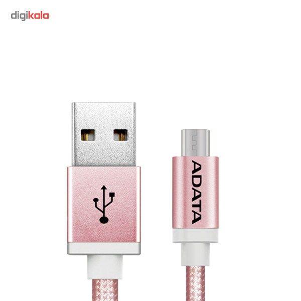 کابل تبدیل USB به microUSB ای دیتا مدل Reversible Aluminum به طول 1 متر main 1 20