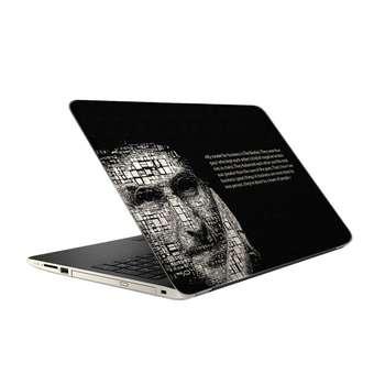 استیکر لپ تاپ فلوریزا طرح استیو جابز کد 022 مناسب برای لپ تاپ 15.6 اینچ