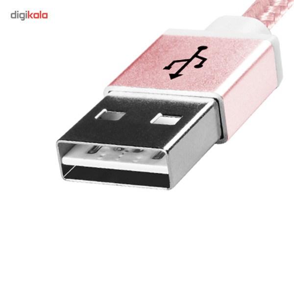 کابل تبدیل USB به microUSB ای دیتا مدل Reversible Aluminum به طول 1 متر main 1 21