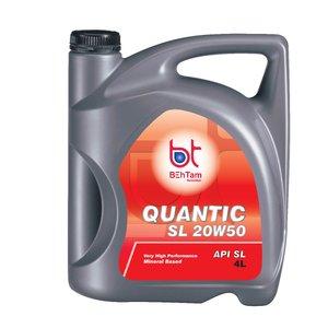 روغن موتور خودرو بهتام روانکار مدل 20W50 Quantic حجم 4 لیتر