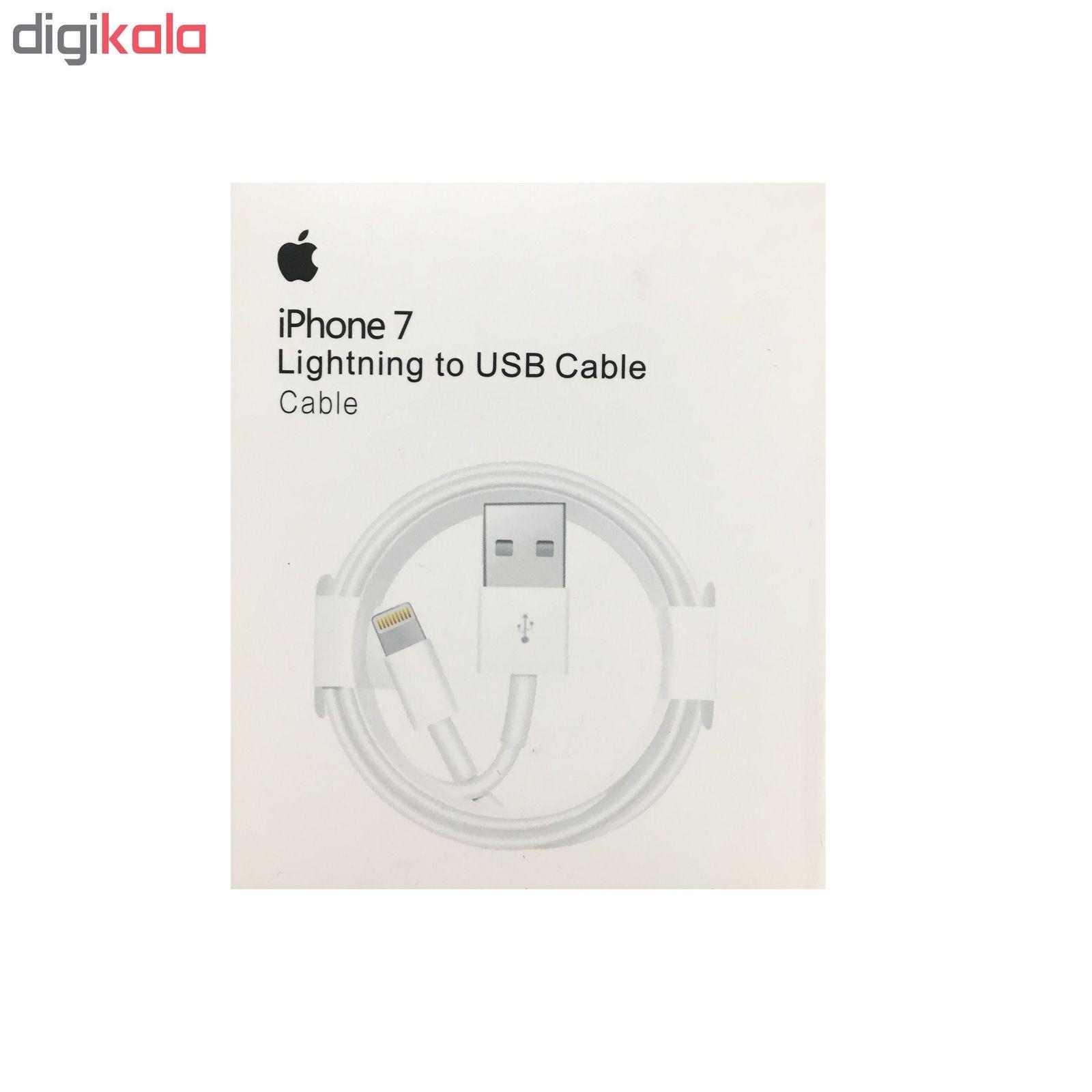 کابل تبدیل USB به لایتنینگ مدل ZM-826-0420-B طول 1 متر مناسب برای IPhone 7 main 1 2