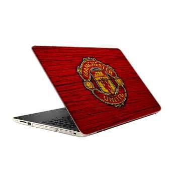 استیکر لپ تاپ فلوریزا طرح منچستریونایتد کد 051 مناسب برای لپ تاپ 15.6 اینچ