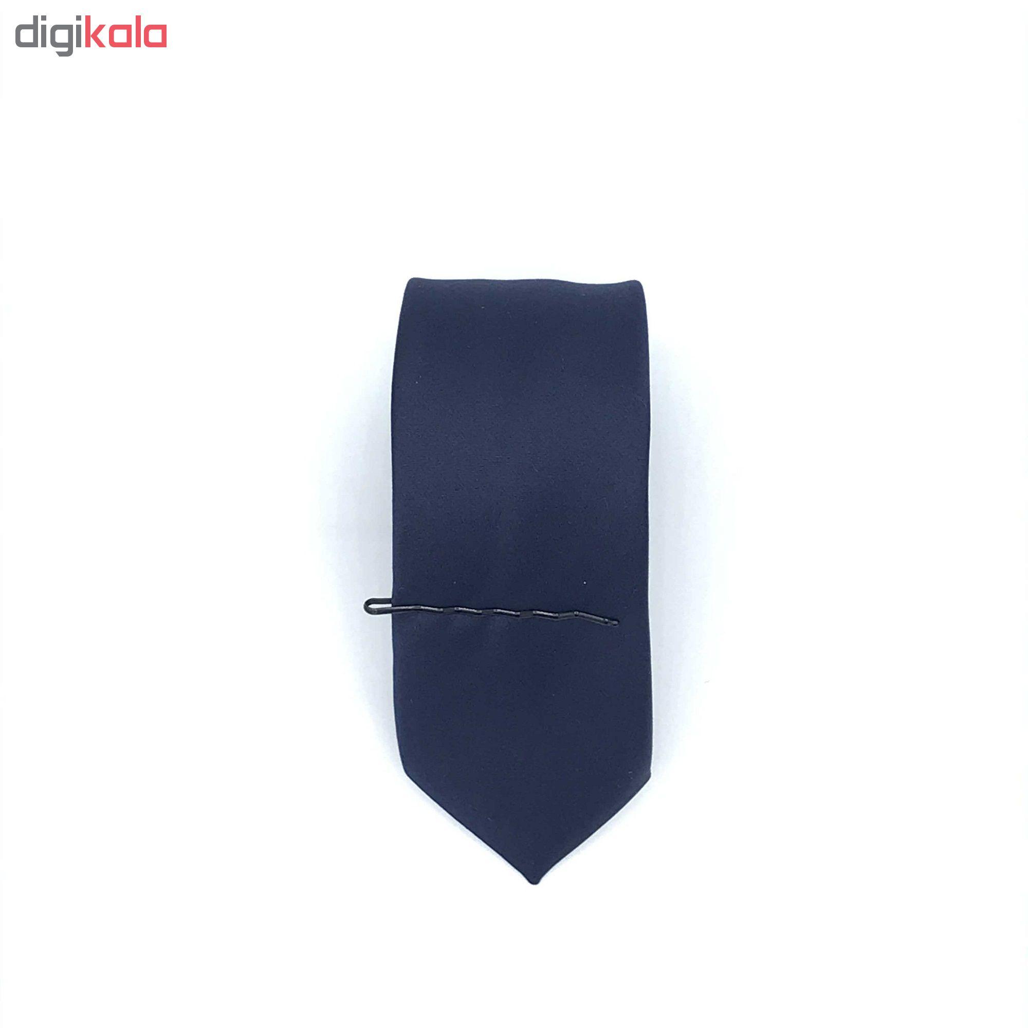 ست کراوات پاپیون دستمال جیب و گل کت مدل KPDG-1002