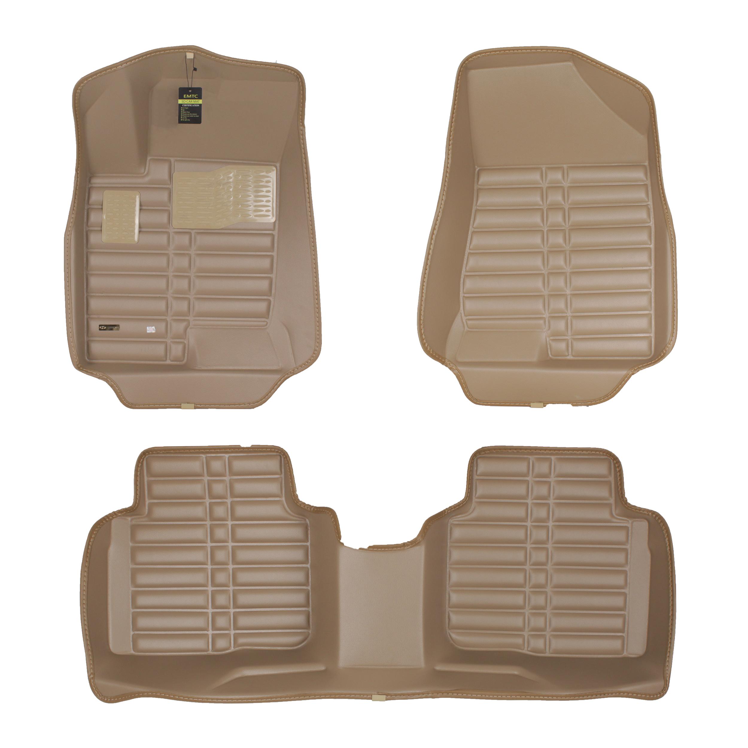 کفپوش سه بعدی خودرو ای ام تی سی مدل TC 2 مناسب برای هیوندای سوناتا NF