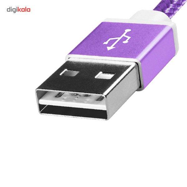 کابل تبدیل USB به microUSB ای دیتا مدل Reversible Aluminum به طول 1 متر main 1 27
