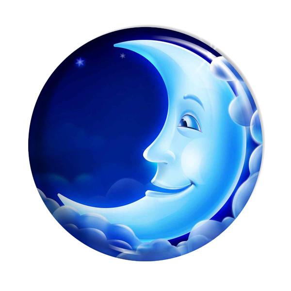 پیکسل  اسانا طرح ماه  ابر ستاره کد ASA023