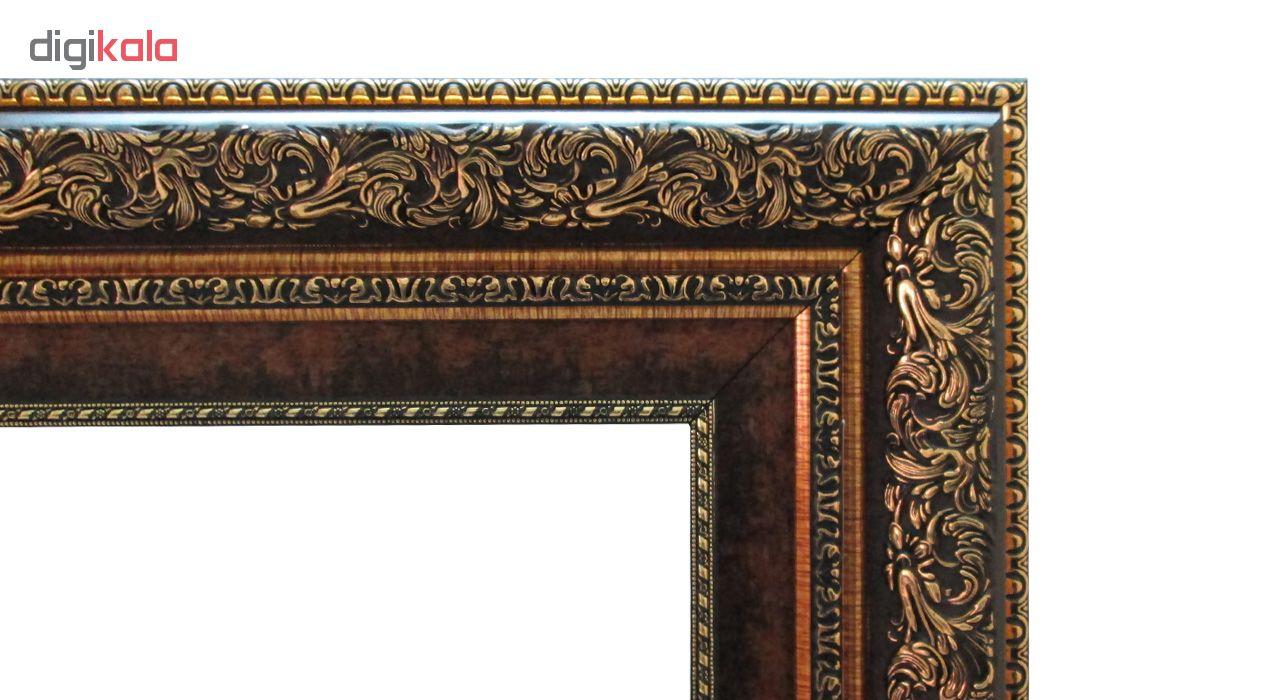 تابلو فرش ماشینی نقش نگار رضوی طرح منظره کد 1796A
