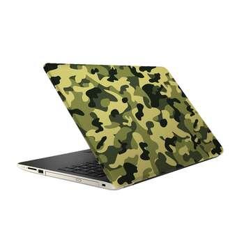 استیکر لپ تاپ فلوریزا  طرح ارتشی سبز کد 078 مناسب برای لپ تاپ 15.6 اینچ