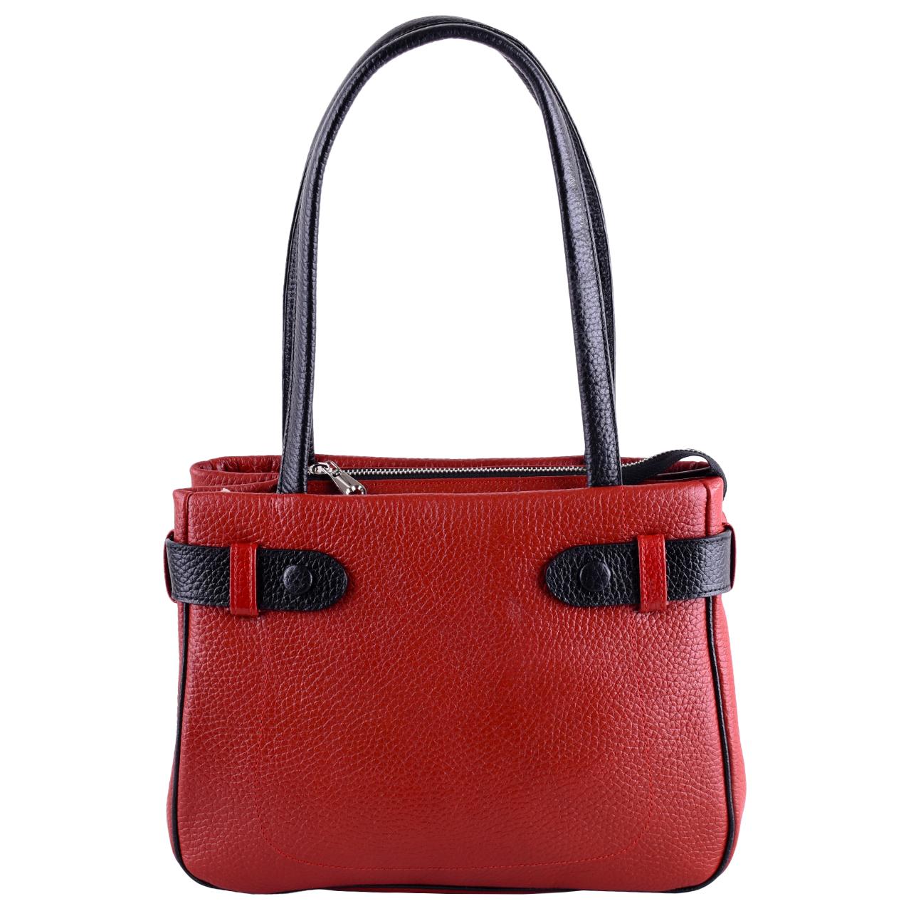 کیف دوشی زنانه طرح یاس مدل 01
