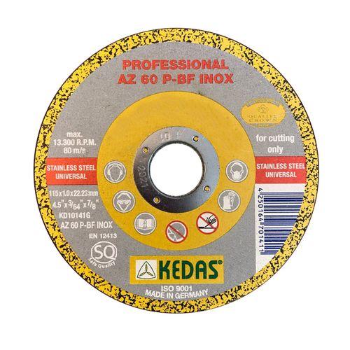 صفحه سنگ برش ميني استیل KEDASکداس مدل KD-10072