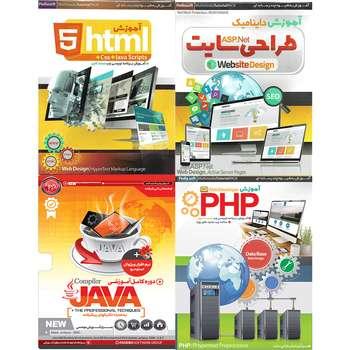 آموزش تصویری زبان های برنامه نویسی تحت وب نشر پدیا و پدیده مجموعه 4 عددی