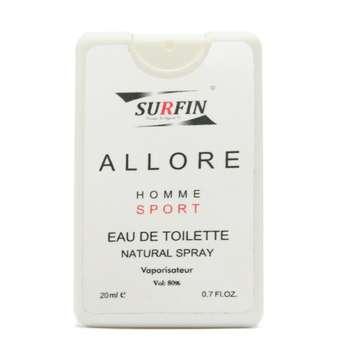 عطر جیبی مردانه سورفین مدل Allure Homme Chanel حجم 20 میلی لیتر