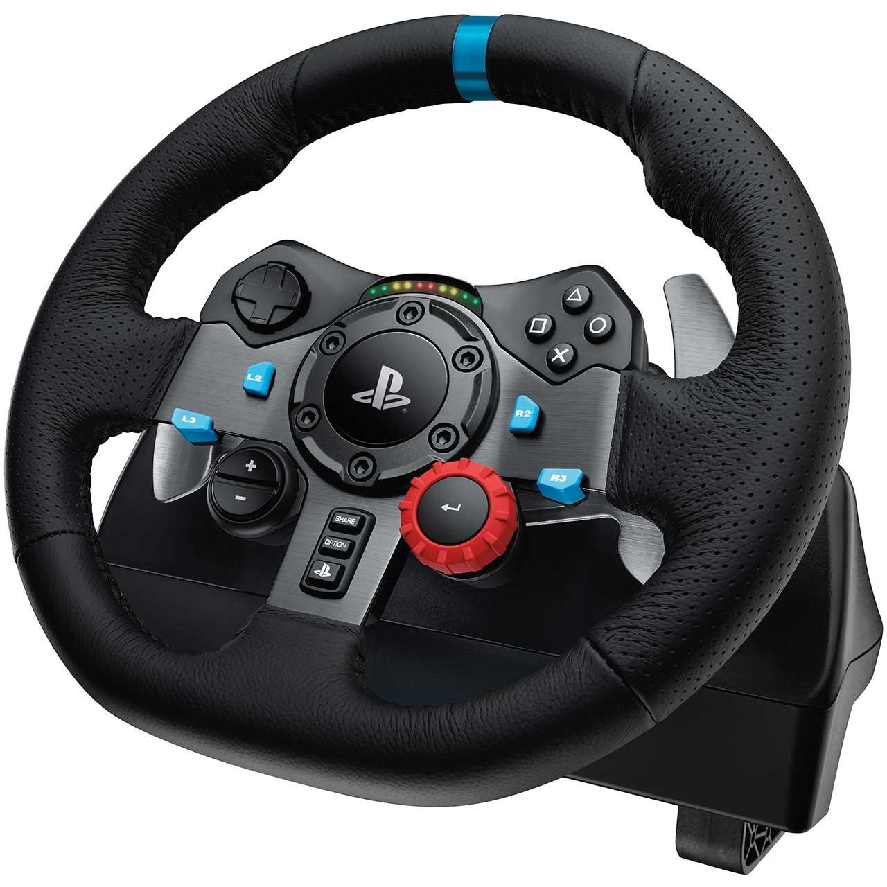 خرید ارزان فرمان بازی لاجیتک مدل G29 Driving Force