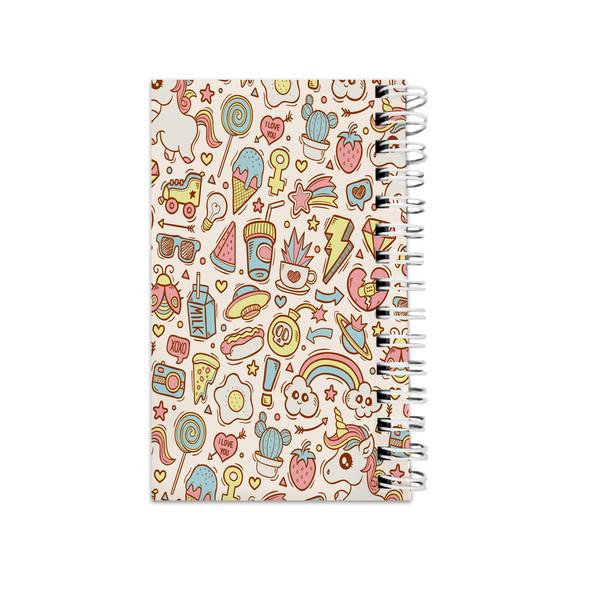 دفترچه یادداشت مدلto do list طرح فانتزی unicorn  کد73532