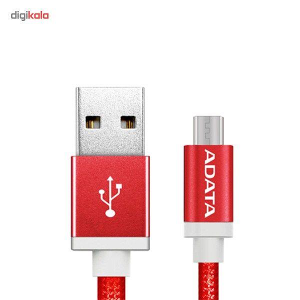 کابل تبدیل USB به microUSB ای دیتا مدل Reversible Aluminum به طول 1 متر main 1 32
