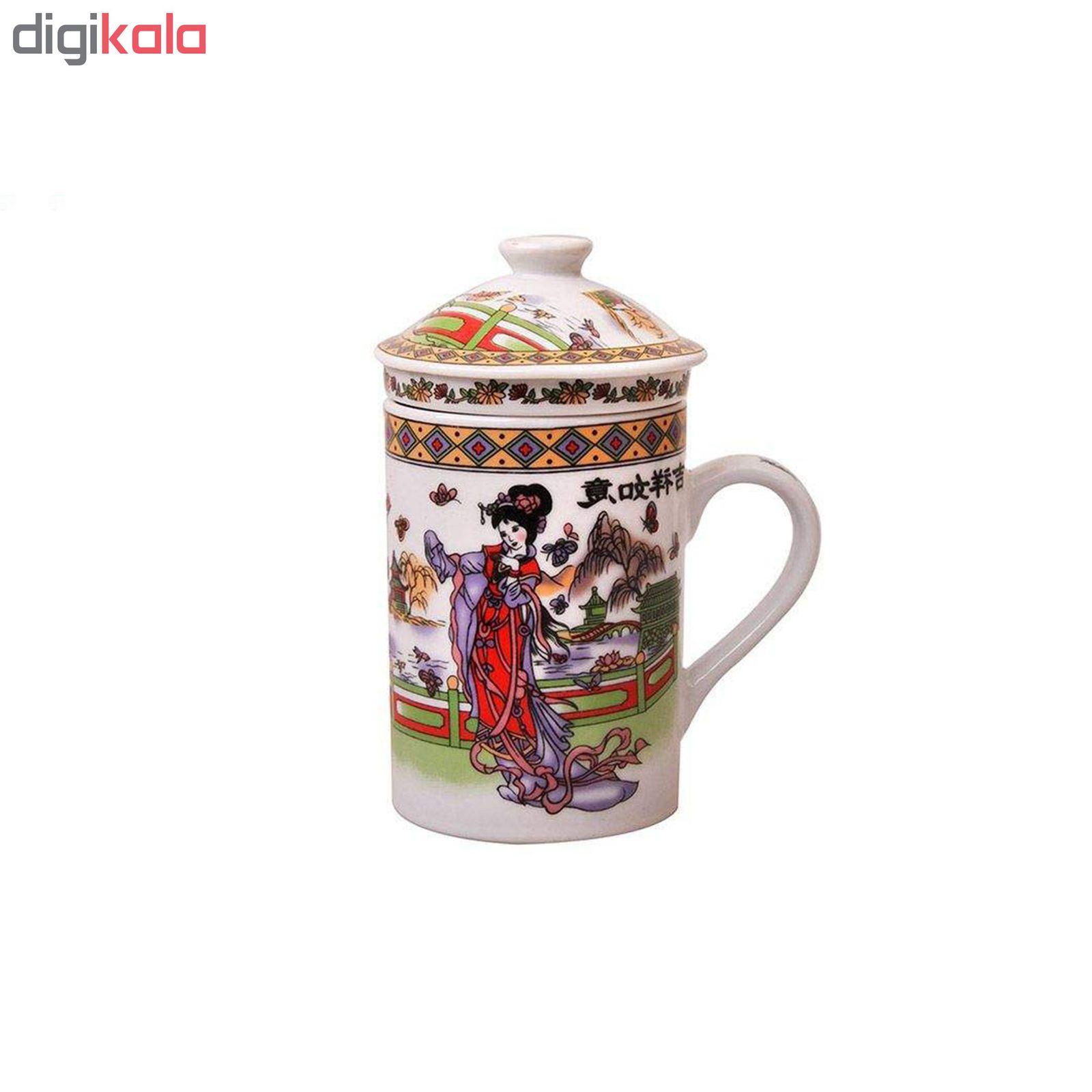 لیوان دمنوش ساز مدل China main 1 1